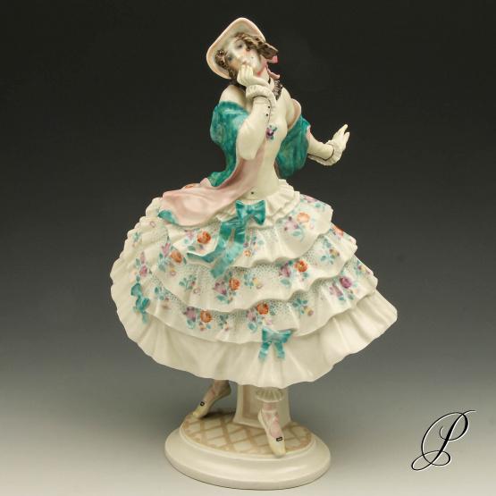 gro e figur meissen 1 wahl aus dem russisches ballett die estrella porzellan porcelain. Black Bedroom Furniture Sets. Home Design Ideas