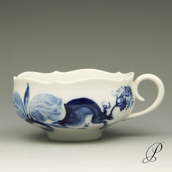 teetasse meissen 1 wahl blaue orchidee auf ast von prof heinz werner porzellan porcelain. Black Bedroom Furniture Sets. Home Design Ideas