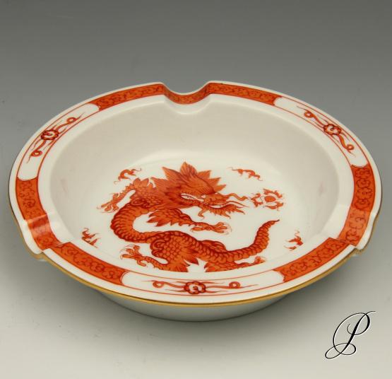 ascher meissen 1 wahl mingdrache rot mit kante porzellan porcelain. Black Bedroom Furniture Sets. Home Design Ideas
