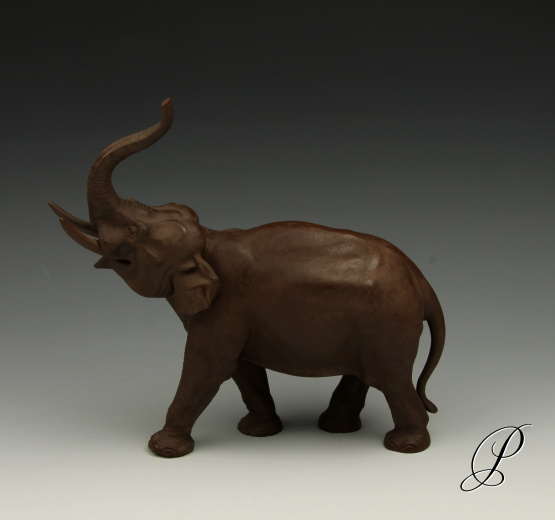 figur meissen elefant in b ttgersteinzeug porzellan porcelain. Black Bedroom Furniture Sets. Home Design Ideas