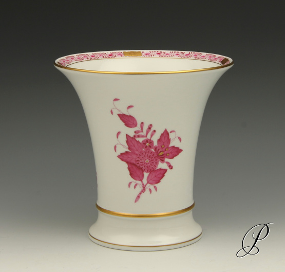 Herend Hungary Hand Painted Vase