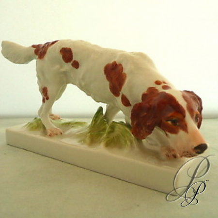 figur meissner porzellan 1 wahl jagdhund porzellan porcelain. Black Bedroom Furniture Sets. Home Design Ideas