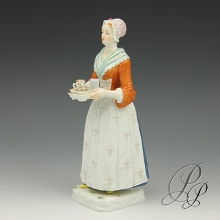 figur meissen 1 wahl schokoladenm dchen porzellan porcelain. Black Bedroom Furniture Sets. Home Design Ideas
